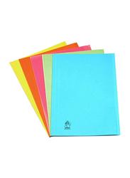 Premier Full Scape Size Folder with Metal Fastener, Pink