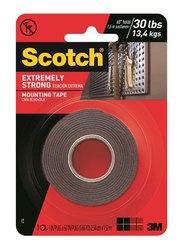 3M Scotch 114P Extremely Strong Mounting Tape, 25.4 x 1.5 meters, Red