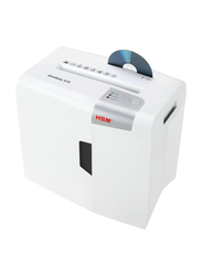HSM S10 Strip Cut Shredder, 6mm, 1042, White