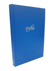 Perfekt Register Ruled Note Book/Manuscript Hard Cover, Fullscape Size 4 Quire, Blue