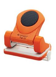 Kangaro Perfo-20 Paper Punch, 20 Sheets Capacity, Orange