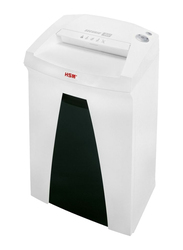 HSM B22 Cross Cut Shredder, 3.9 x 30mm, White