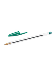 BIC Cristal Original Medium Point 1.0mm Ball Pen, Green