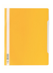 Durable 2570-04 PVC Clear View File Folder, A4 Size, Yellow