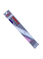 Omega 1921/30 Deluxe Ruler, 300mm, Clear