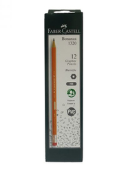Faber-Castell 1320 Bonanza Pencil, 12 Pieces, Brown