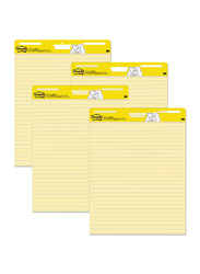 3M Post-It 561 Ruled Easel Pad, 25 x 30mm, Yellow