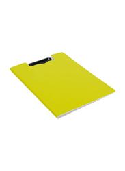 Deli EF75002 Clipboard, A4 Size, Yellow