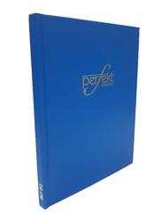 Perfekt Register Ruled Note Book/Manuscript Hard Cover, 9x7 Size 2 Quire, Blue