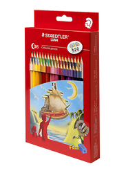 Staedtler Luna ST-136-LC36 Color Pencils Set, with Free Sharpener, 36 Pieces, Multicolor