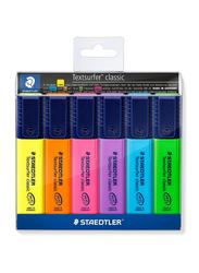 Staedtler 6-Piece Textsurfer Classic Highlighter Set, Multicolor