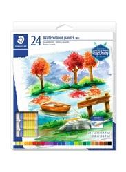 Staedtler Watercolor Paint Set, 24 Pieces, Multicolor