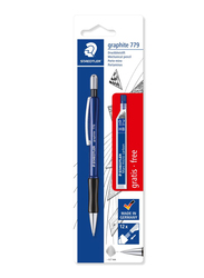 Staedtler 7797Abk25D Mechanical Graphite Pencil, With B Leads, Blister Packaging, Free Refill Diameter 0.7mm Barrel, Multicolor