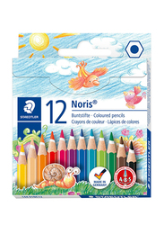 Staedtler ST-144-01-NC12 Color Mini Pencils Set, 12 Pieces, Multicolor