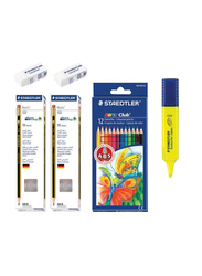Staedtler 40-Piece Noris Stationery Set, Multicolor