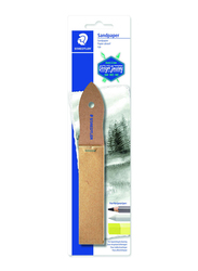 Staedtler ST-923-23BKC Lead Pointer Sandpaper, 12 sheets, Brown
