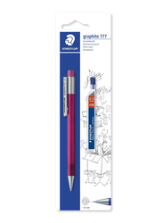 Staedtler Mars ST-777-5SBK25D Micro Graphite 0.5 Mechanical Pencil, with Leads, Multicolor