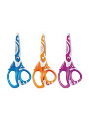 Maped 5-Inch Zenoa Fit Scissors, Assorted Colors