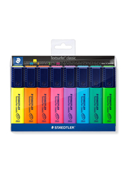 Staedtler Textsurfer Classic Highlighters, 8-Pieces, Multicolor