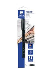Staedtler Lumocolor Permanent Universal Pen, F, Black