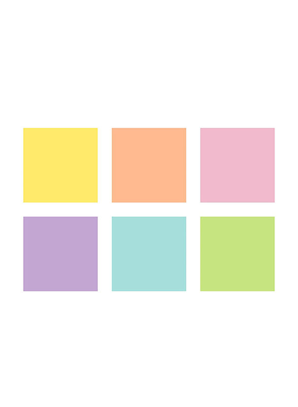 Staedtler 6-Piece Textsurfer Classic Pastel Highlighter Set, Large Ink Memory Colours, Multicolor