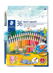 Staedtler 14410Nd36 Watercolor Pencils Set, 36 Pieces, Multicolor