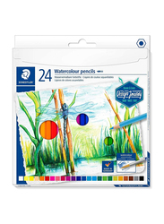 Staedtler Journey ST-14610C-C24 Watercolor Pencils Set, 24 Pieces, Assorted Colors
