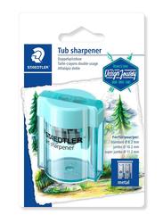 Staedtler 513 Journey Design Double Hole Tub Sharpener, Blue