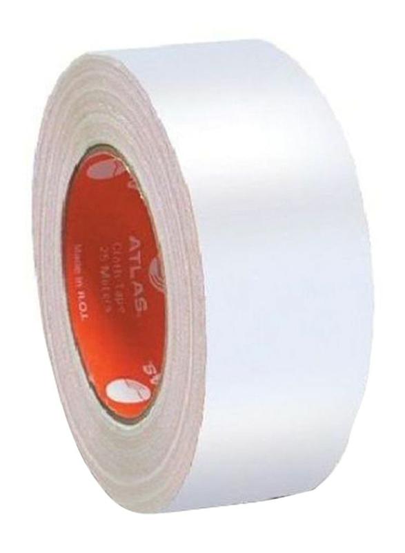 Atlas Cloth Tape, 50mm, White