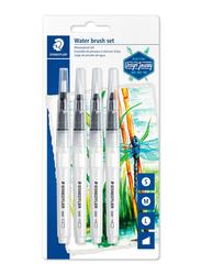 Staedtler Journey 949-SBK4-C Blister Water Brush, 4 Pieces, Multicolor