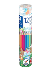 Staedtler Noris Club ST-144-NMD12 Color Pencils Set, 12 Pieces, Multicolor