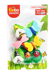 Funbo 3D Insect Eraser, Multicolor