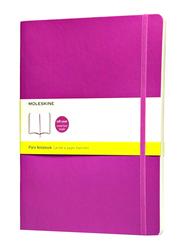 Moleskine Soft Cover Plain Notebook, 70gm, Extra Large, ME-QP623H4, Orchid Purple