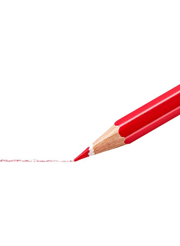 Staedtler Noris Club 144 10Nc24 Aquarelle Watercolor Pencils Set, with Paint Brush, Assorted Colors, 24 Pieces, Multicolor