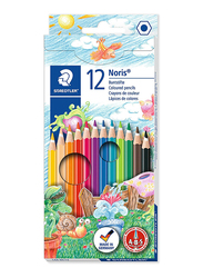 Staedtler Noris Club ST-144-NC12 Color Pencils Set, 12 Pieces, Multicolor