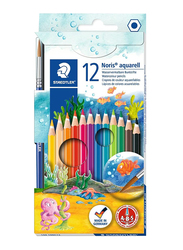 Staedtler 14410Nc12 Watercolor Pencils Set, 12 Pieces, Multicolor