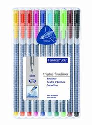 Staedtler Triples Fineliner 334 SB10A604 Pens, 10-Pieces, Multicolor