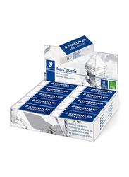 Staedtler Mars Plastic Erasers, 20-Pieces, White
