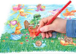 Staedtler Noris Club ST-144-NC24 Color Pencils Set, 24 Pieces, Multicolor