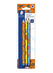 Staedtler Comic Art Blister Jumbo Graphite Pencils, 3-Pieces, Multicolor