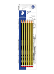 Staedtler Noris 120-2Bk6Da Pencils Set, Blister Card, 6 Pieces, Multicolor