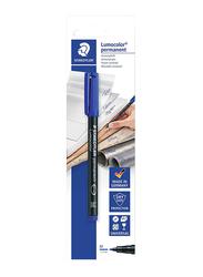 Staedtler Lumocolor Permanent 317 3 BKDA Universal Pen, 1.0mm, Blue