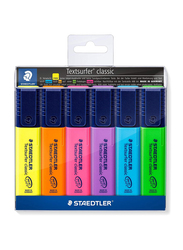 Staedtler Textsurfer Classic Highlighters, 6-Pieces, Multicolor