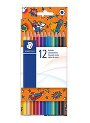 Staedtler 175 COC12 Hexagonal Colored Pencils, 12-Pieces, Multicolor
