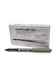 Uniball 12-Piece Eye Fine Roller Pen Set, Ub157, Black