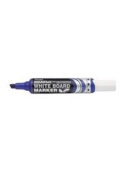 Pentel Maxiflo White Board Marker, Mwl6, Blue