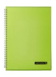 Maruman Septcouleur Notebook, 80 Sheets, 75gm, A4 Size, Green