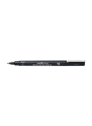 Uniball 12-Piece Pin Fine Line Brush Pen Set, Black