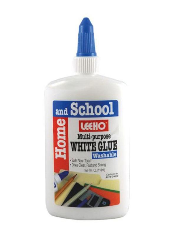 Leeho Multi-Purpose Glue, 118ml, White