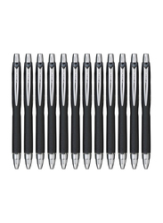 Uniball Jetstream SXN-210 RT 1.0mm Ballpoint Pens, Smudge Resistant and Tamper Free Ink, 12 Pieces, Black